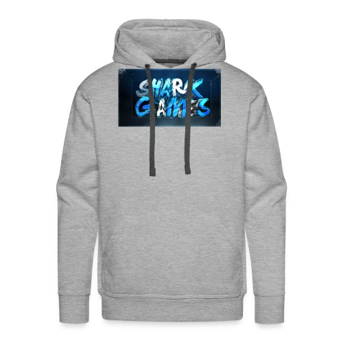 SharkGames - Felpa con cappuccio premium da uomo
