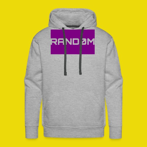 Random Logo - Men's Premium Hoodie