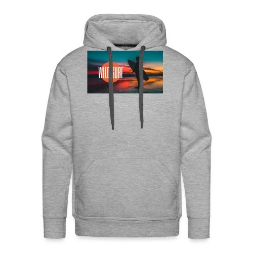 Surf logo - Männer Premium Hoodie