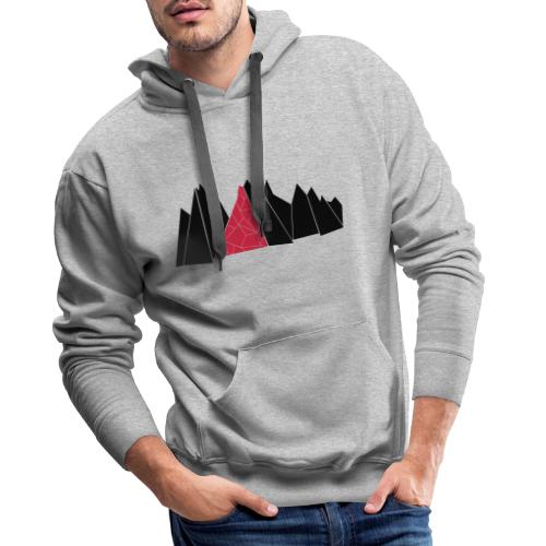 T-Shirt Mountains - Männer Premium Hoodie