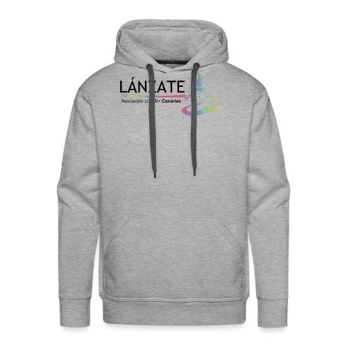 logolanzate - Sudadera con capucha premium para hombre