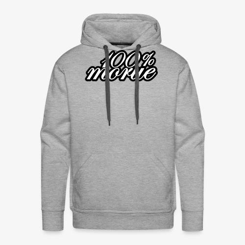 100% morue - Sweat-shirt à capuche Premium pour hommes