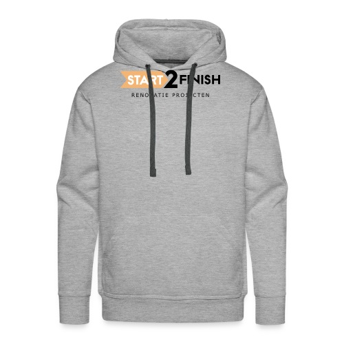 Start to finish - Mannen Premium hoodie