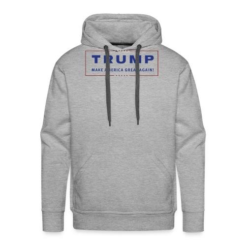 TRUMP Transparent Banner MAGA - Männer Premium Hoodie