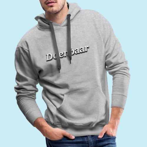 doenbaar - Sweat-shirt à capuche Premium pour hommes