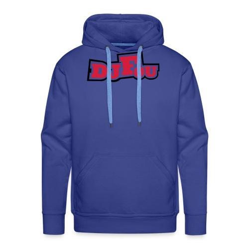 logofou - Sweat-shirt à capuche Premium pour hommes