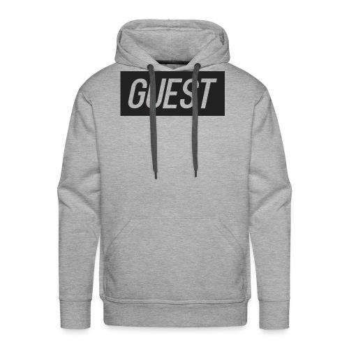 G-rectangle (grey) - Men's Premium Hoodie