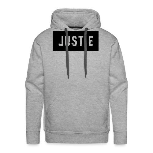 Justie shirt - Mannen Premium hoodie