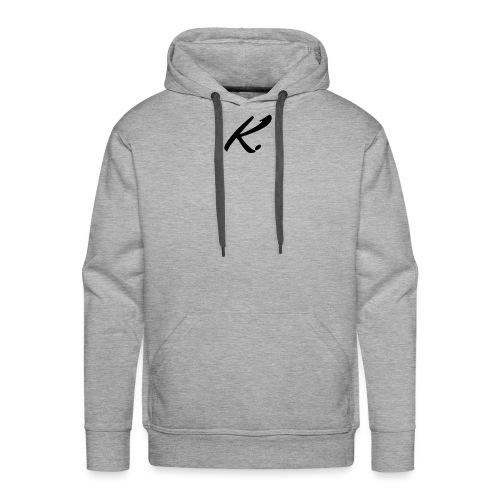 K - Sweat-shirt à capuche Premium pour hommes