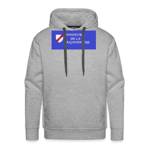 Du Reau_de_La_Gaignonnier - Sweat-shirt à capuche Premium pour hommes