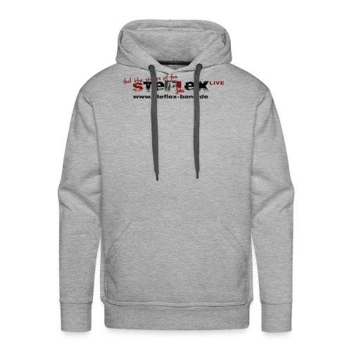 STEFLEX LOGO 4c full www - Männer Premium Hoodie