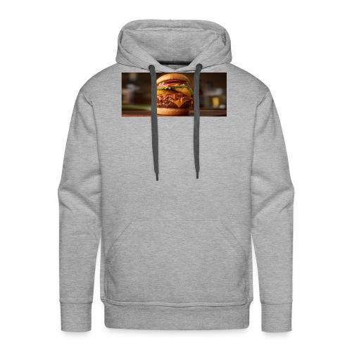 Burger - Herre Premium hættetrøje
