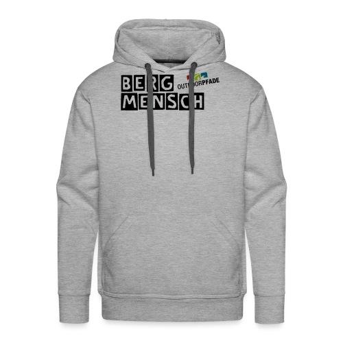 BergMensch#01 - Männer Premium Hoodie