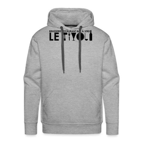 Logo-Tivoli-Final - Sweat-shirt à capuche Premium pour hommes