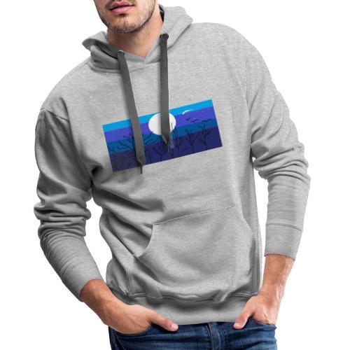 Luna - Sudadera con capucha premium para hombre
