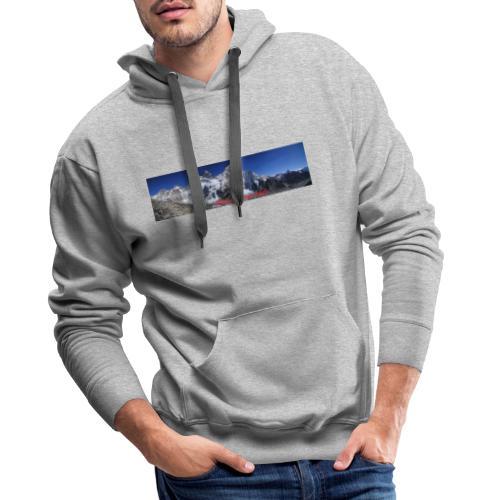panoramique Everest - Sweat-shirt à capuche Premium pour hommes