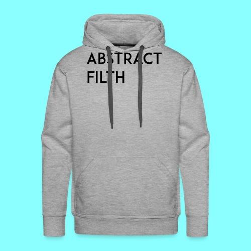 Abstract filth - Premium hettegenser for menn