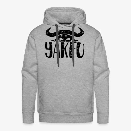 YakFu (Black) - Männer Premium Hoodie