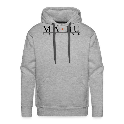 mabu-fashion_schwarz-gelb - Männer Premium Hoodie