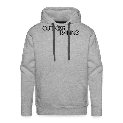 OutdoorTrainingpec - Sweat-shirt à capuche Premium pour hommes