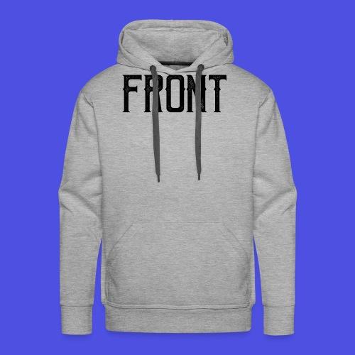 Front tshirt - Mannen Premium hoodie