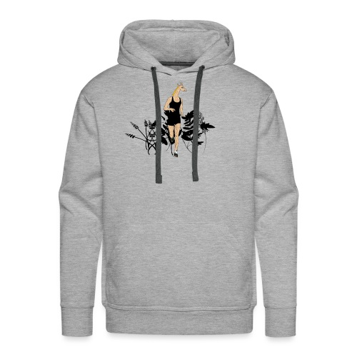 Girafe - Sweat-shirt à capuche Premium pour hommes