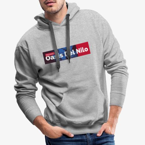 Nilo 2 - Felpa con cappuccio premium da uomo
