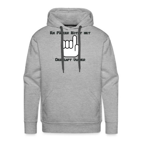 En Pälzer Kotzt net - Männer Premium Hoodie