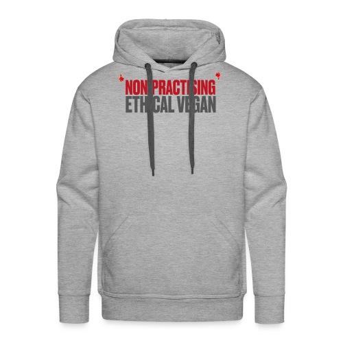 Non-practising Ethical Vegan - Men's Premium Hoodie