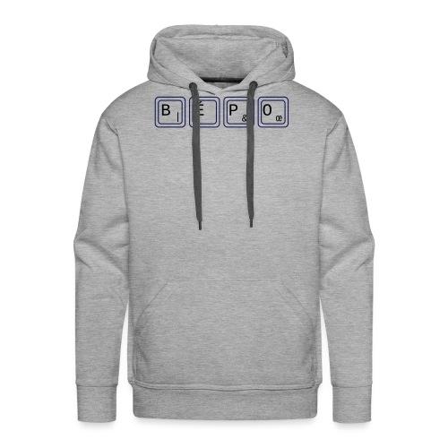 bépo - Sweat-shirt à capuche Premium pour hommes