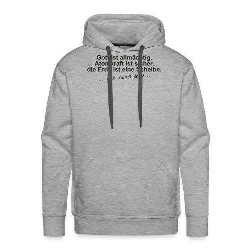 gottistallmaechtig - Männer Premium Hoodie