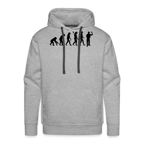 Evolution Darts - Sudadera con capucha premium para hombre