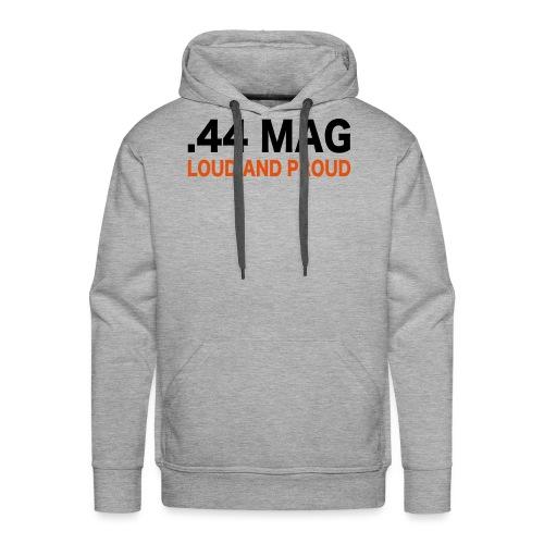 44 magnum - Felpa con cappuccio premium da uomo
