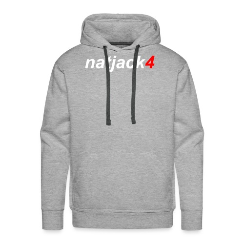 NJ4 Varsity Signature Range 1 (RED) - Men's Premium Hoodie