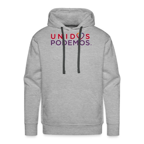 Taza Unidos Podemos 2016 Blanca - Sudadera con capucha premium para hombre