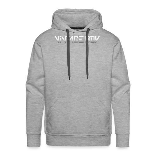 vintage boy text - Mannen Premium hoodie