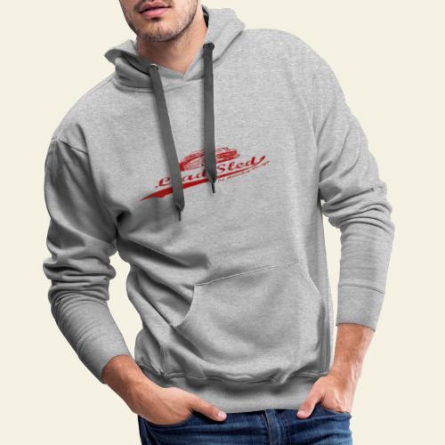 lead sled red - Herre Premium hættetrøje