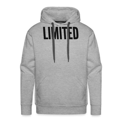 LIMITED - Bluza męska Premium z kapturem