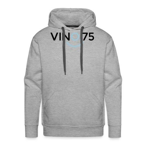 VINO75 - Felpa con cappuccio premium da uomo