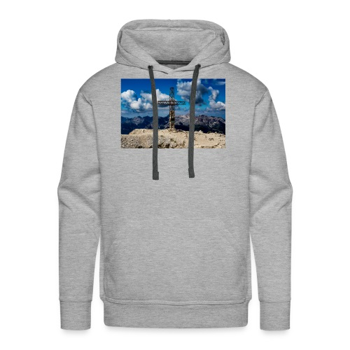 Gipfelkreuz - Männer Premium Hoodie