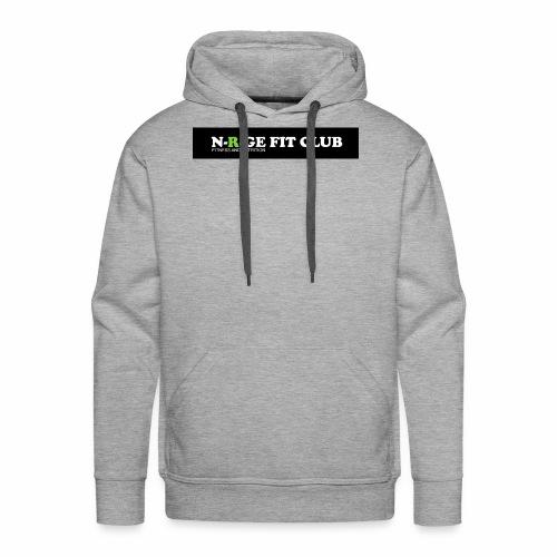 N-R-GE FIT CLUB LOGO - Men's Premium Hoodie