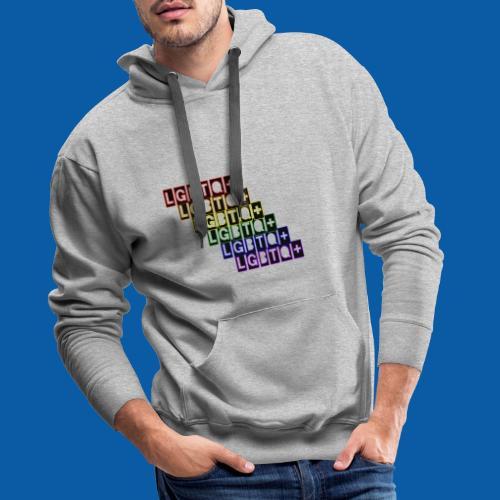 LGBTQ+ Raibow - Männer Premium Hoodie