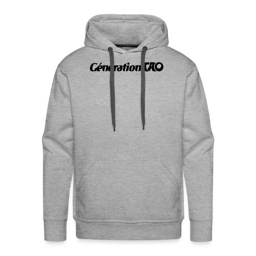 Génération Tao - Sweat-shirt à capuche Premium pour hommes