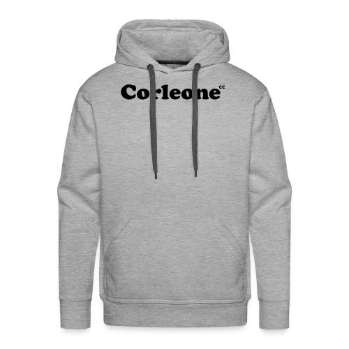 schrift corleone - Männer Premium Hoodie