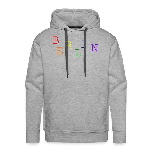 Berlin Rainbow #1 - Männer Premium Hoodie
