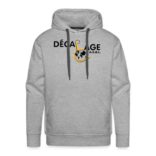 Logo vectoriel grand - Sweat-shirt à capuche Premium pour hommes
