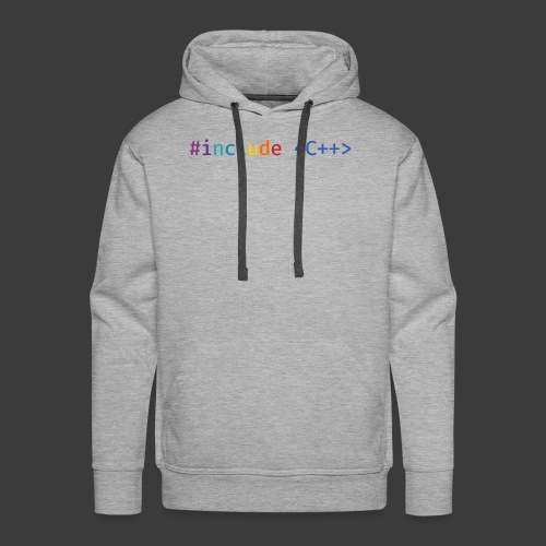 Rainbow Include - Men's Premium Hoodie