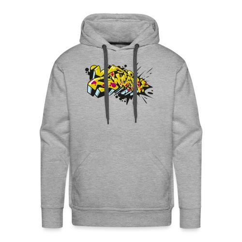 2Wear Graffiti Style - Herre Premium hættetrøje