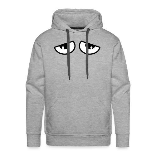 slaap ogen - Mannen Premium hoodie