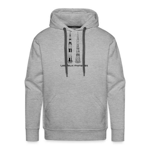 Saturn V & N 1 - Sweat-shirt à capuche Premium pour hommes